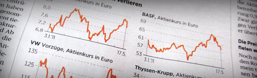 smallCharts used by Handelsblatt